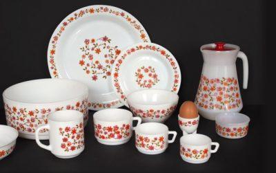 Dans la cuisine de Grand-mère: le retour de la vaisselle Arcopal !